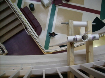 The Leaky Pendulum from the top, Tanya Mikulas, Augusta State University, physics 2007
