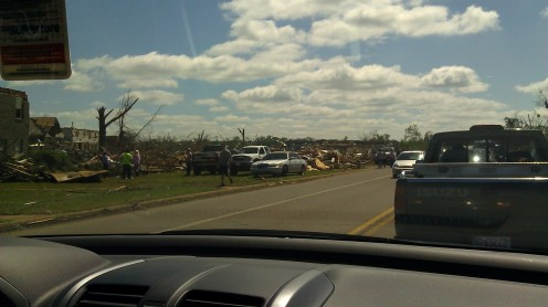 so many people were affected by this tornado (photo by Tanya Mikulas)