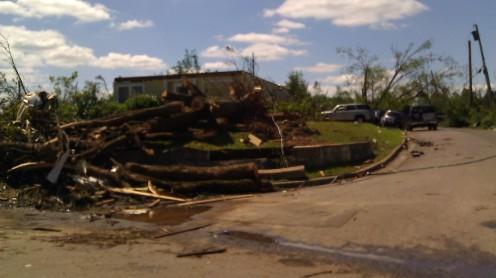 tornado damage (photo by Tanya Mikulas)
