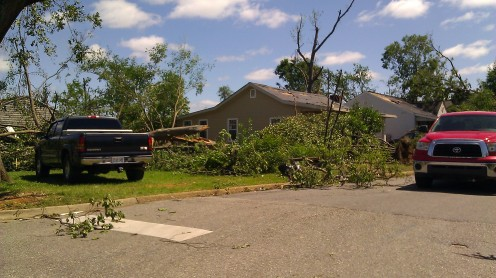 my house survived. (photo by Tanya Mikulas)