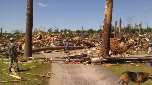 So much damage, you can't imagine unless you see it with your own eyes. (photo by Tanya Mikulas)