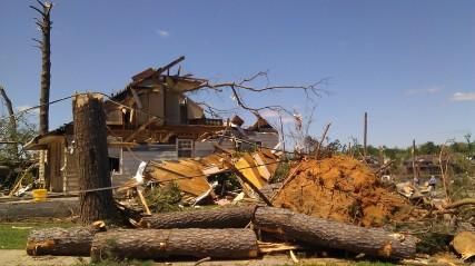 Destroyed homes. (photo by Tanya Mikulas)