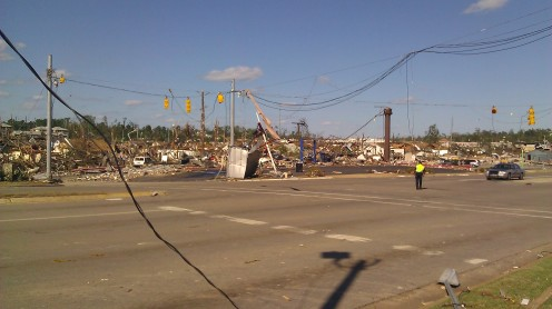 Used to be an oil change place. Gone. (photo by Tanya Mikulas)