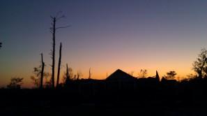 pretty nice sunset. (photo by Tanya Mikulas)